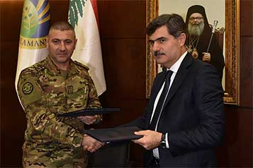 Agreement between the Lebanese air forces and UOB